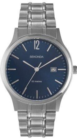 Sekonda Men's stainless steel Quartz Watch £12.35 Delivered Free @ Amazon