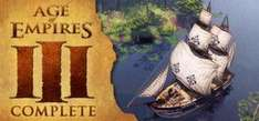 Age of Empires Bundle (AoE III Complete + AoE II HD + The Forgotten) £7.49 at Steam