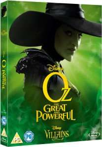 Oz: The Great & Powerful - Disney Villains Limited Artwork Edition Blu-ray £7.99 delivered @ Zavvi