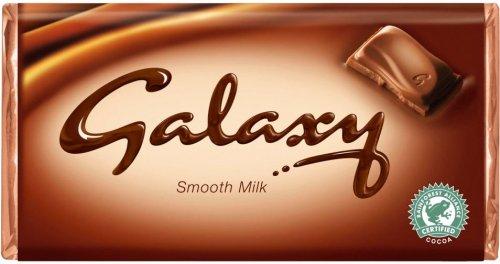 Galaxy Chocolate 114g £1.00 @ Morrisons