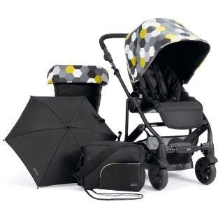 Mamas and Papas Pixo Hexagon Pushchair Package - Black.  Argos £199.99