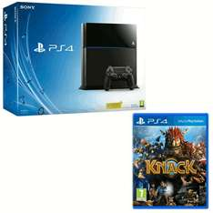 Playstation 4 ps4 with Knack Refurbished 12 month warranty @ Game £289.99