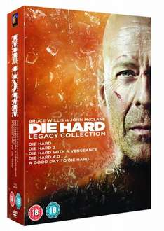 Die Hard: Legacy Collection (Films 1-5) [DVD] [1988] £12.50 @ Amazon UK