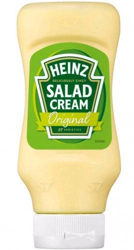 Heinz Salad Cream Top Down Original / Light (460g) - £1.12 @ Tesco = 52p Via Cashback At CheckoutSmart / Quidco.com / ClickSnap App...