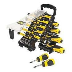 Stanley 51 piece screwdriver set £14.99 at screwfix with free click and collect!