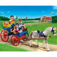 Playmobil carriage back in stock £3.24 at Asda Direct Free Click & Collect