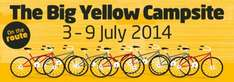 Lightwater Valley Pop Up Campsite For Tour De France 3rd-9th July Free Theme Park Tickets For All Campers