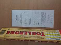 400g Toblerone for 75p @ Waitrose
