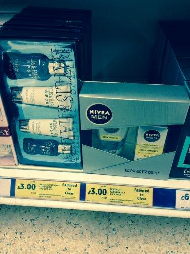 Nivea Men duo or Baylis and Harding 4 pack both £3 Kensington Tesco Extra