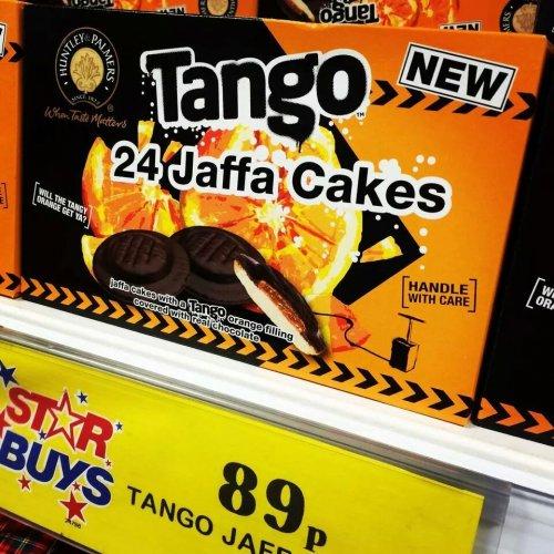 Tango Jaffa Cakes £0.89 @ Home bargains