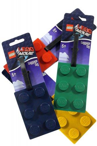 LEGO Movie Luggage Tag (Add-on Item) £3.49 @ Amazon