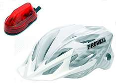 Bicycle Helmet: Prowell was £69.99 now £25.99 inc Free delivery Sold by Prowell Helmets UK and Fulfilled by Amazon