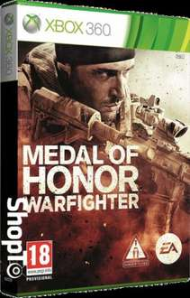 Medal of Honor: Warfighter xbox 360 £2.85 @ shopto