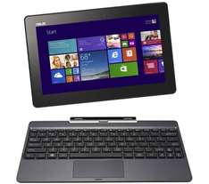 Asus Transformer book t100ta with 500gb hard drive in keyboard £349.99 @ PC world