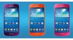 Samsung Galaxy S4 Mini (Refurb) [Pink / Orange / Purple] £11.99pm [500 mins / Unlimited Texts / 250MB Data] Total £287.76 + £45 Quidco potential £242.76 + 2for1 Orange Wednesdays +  2for1 at Pizza Express @ Mobiles.co.uk