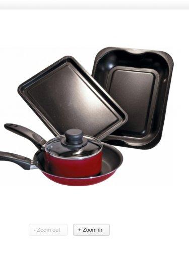 Kitchen Essentials 4 piece cooking set - Argos £5.99 (previously £19.99)
