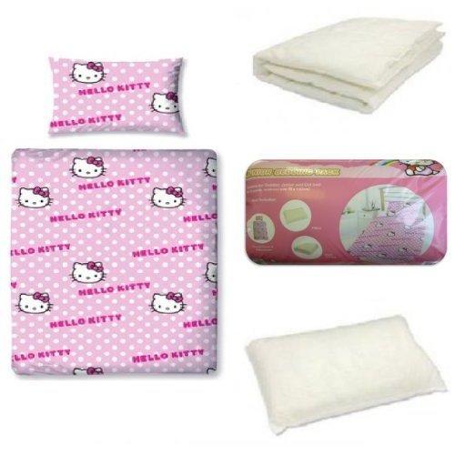 Hello Kitty Junior Bedding Bundle possible misprice £8.99 @ Home Bargains