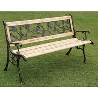 Rose Detail Garden Bench £29.99 @ B&M Stores