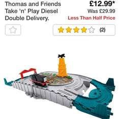 Thomas take n play diesel double delivery £12.99 @ Argos