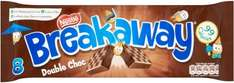 Breakaway Double Chocolate 8 Pack Scanning at 64p @ Co-operative Food