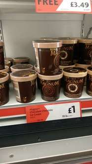 Magnum 440ml Ice-Cream at Morrison's for £1!