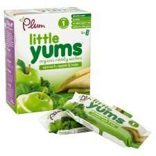 Plum baby foods-Little Yums and Teensy Fruits - 99p + 50p off voucher @ 99p Stores