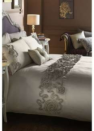 LUXURY Isadore Embellished Duvet Set £15.00 at Matalan