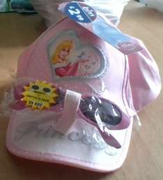 Disney princess cap with sunglasses £2.99 at B&M