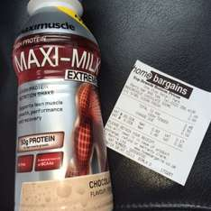 Maxi Muscle MAXI-MILK Extreme 500ml £1.49 @ Home bargains