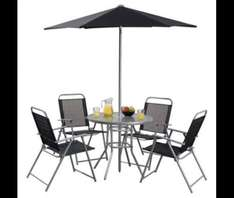 Hawaii 6-piece Garden Furniture Set £42 Tesco Direct