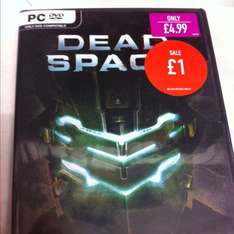 Dead space 2 (PC) £1 @ GAME instore
