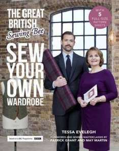 64% off RRP on The Great British Sewing Bee [Hardback] (Was £25, NOW £8.99) @ The Book People (£11.94 Delivered)