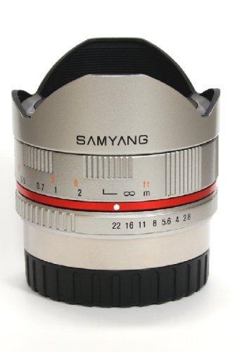 Samyang 8mm f2.8 Fisheye for Fuji X mount - £231.33 on Amazon