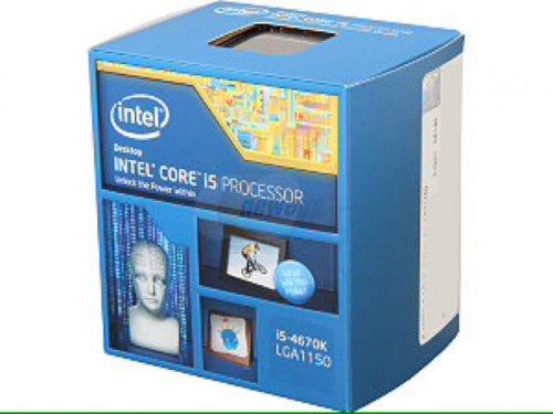 i5-4670k (Haswell) LGA1150 Processor £162.73 delivered @ Aria