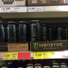 Moster drinks £1 @ tesco