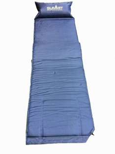 Tesco Direct - Summit Self Inflating Camping Mat with Built-In Pillow - £9.80