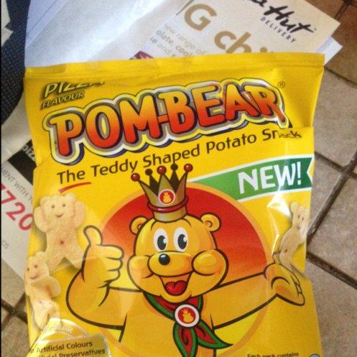 Pom Bear crisps pizza flavour £0.99 @ The99p Store (hounslow)
