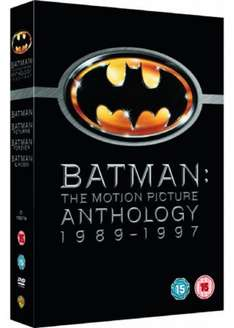 (DVD) Batman - The Motion Picture Anthology - £5.99 - Base