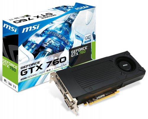 MSI Nvidia GTX 760 2GB DDR5 PCI-E Graphics Card @ Amazon - £145.30 Delivered (Sold by Ballicom)