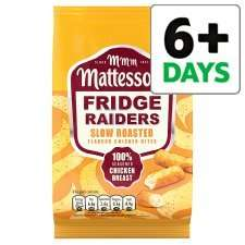 Mattessons Fridge Raiders 60g, all varieties, Half Price 55p from Weds 25th June @ Tesco.