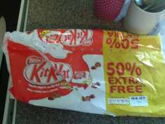 kitkat rolo or smarties youghurt split pots are now £1 at asda