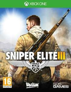 Sniper Elite 3 Xbox one and ps4 For Only £36.75 @ Gameseek