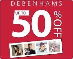 debenhams summer half price sale starts tomorrow @ debenhams