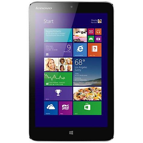 "Lenovo Miix 2 Tablet, Intel Atom, Windows 8.1 & Microsoft Office 2013, 8"", Wi-Fi, 32GB, £199.95 @ John Lewis £149.95 after cashback"