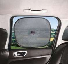 Pop-Up Car Window Blinds (Pack of 2) £0.49 at Screwfix.com-Stock Clearance