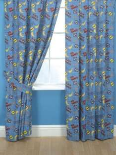 "Power Rangers Operation Overdrive Curtains 54"" Drop £5.94 @ Amazon/HomeBeddingStore"