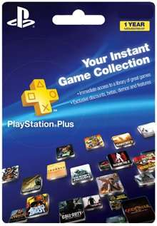 Playstation Plus 1 year £33.99 @ electronicfirst