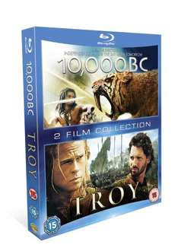 (Blu Ray) Troy / 10,000 BC (2 Discs) - £4.99 - eBay/TheEntertainmentStore