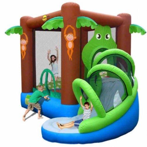 Airflow crocodile bouncy castle with slide £140.00 @ Tesco Direct