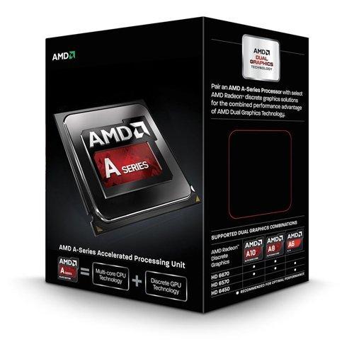 AMD APU A10 6800K Black Edition Quad Core Processor (Socket FM2, 4.1GHz, 4MB, 100W, AD680KWOHLBOX, Richland, Turbo Core 3.0 Technology, Virtualization Technology) £86.67 'Free Delivery' @ Amazon UK